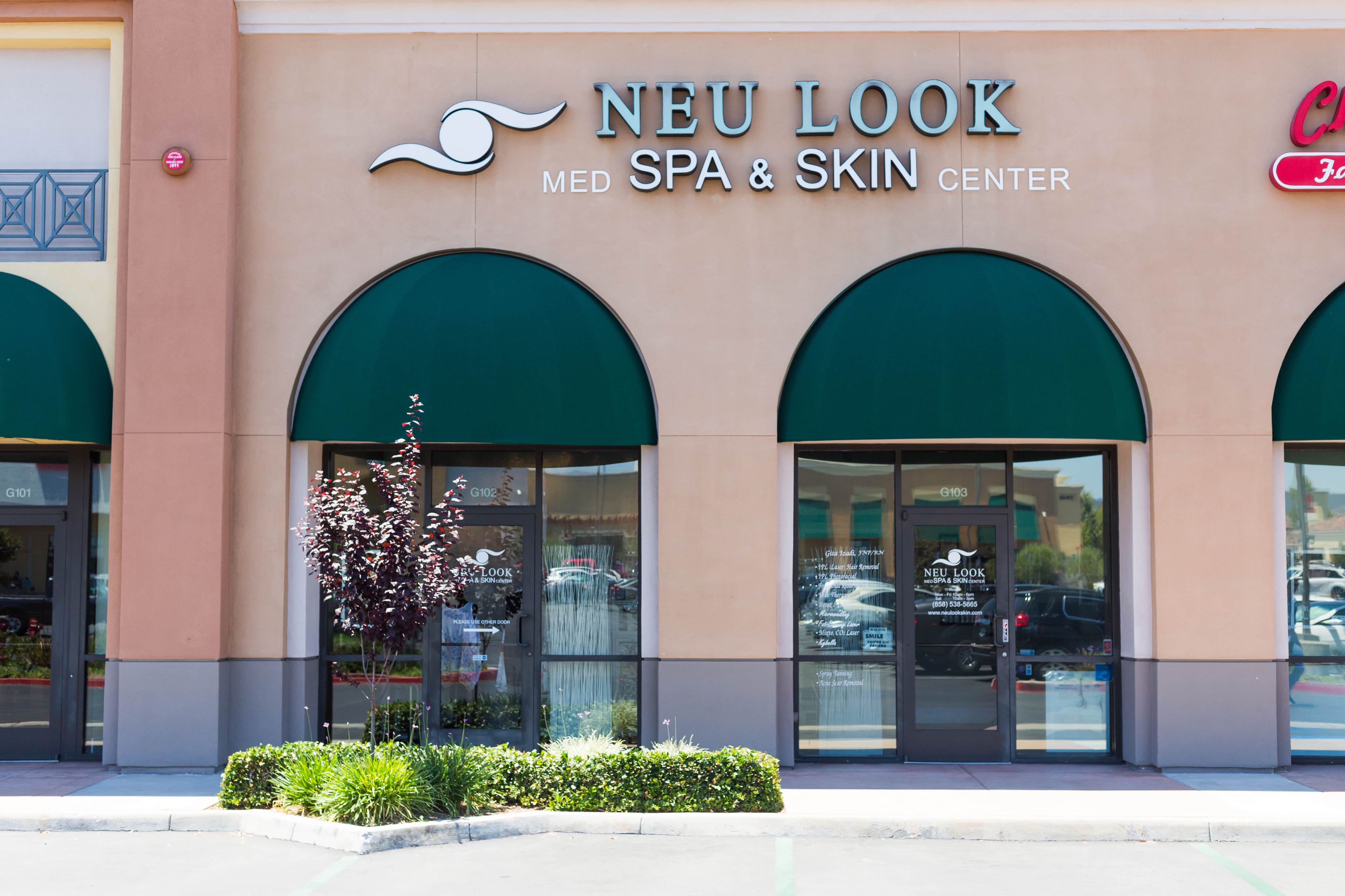 Neu Look Med Spa and Skin Center building