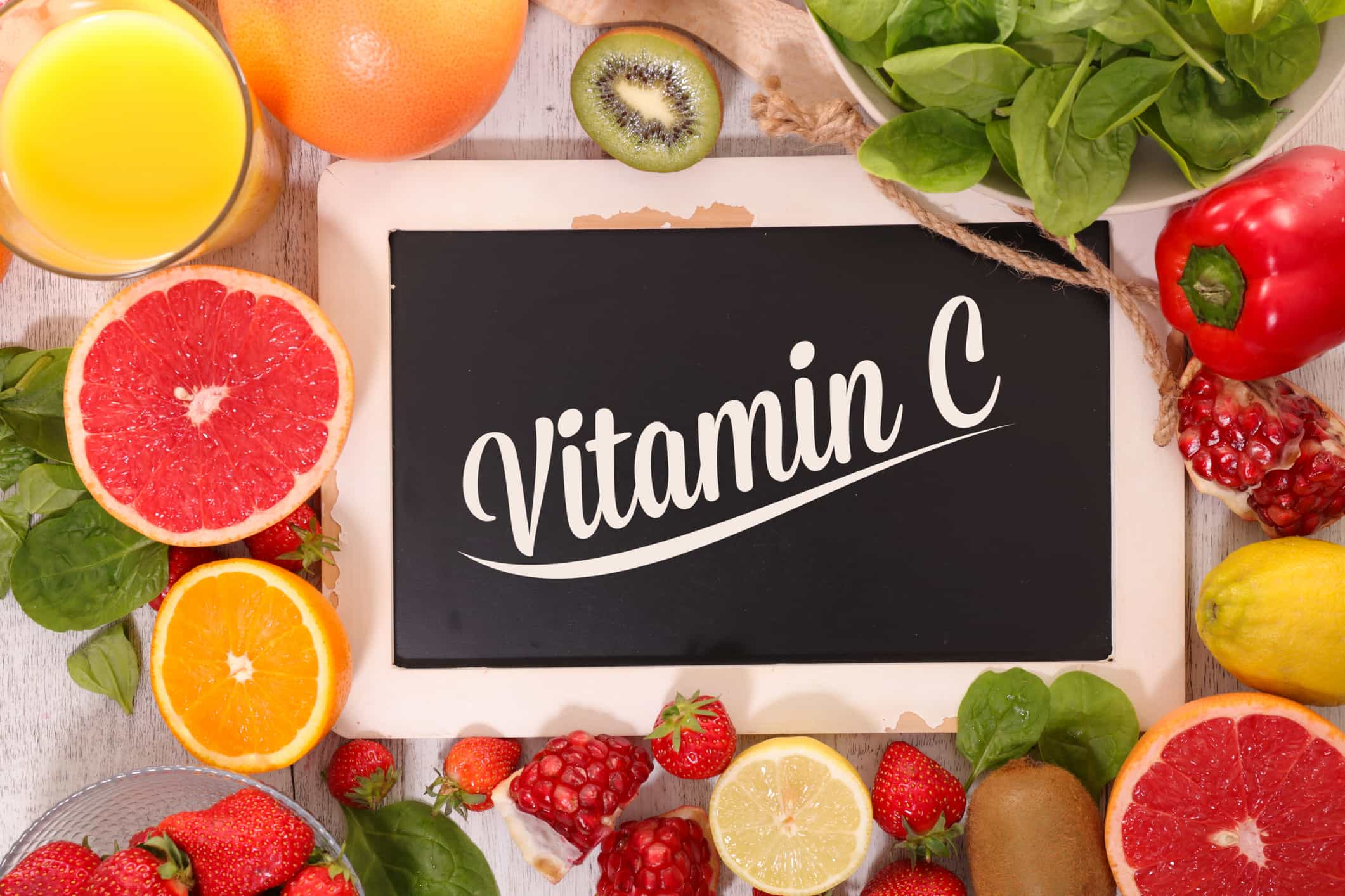 vitamin C for healthy skin