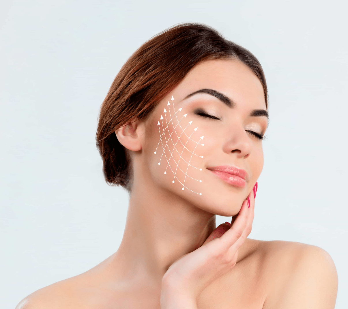 Woman getting micro-needling