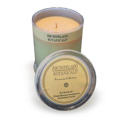 Archipalego Candle - Orange Blossom, Sandalwood and Kashmire Vanilla