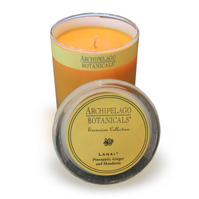 Archipalego Candle - Pineapple, Ginger and Mandarin