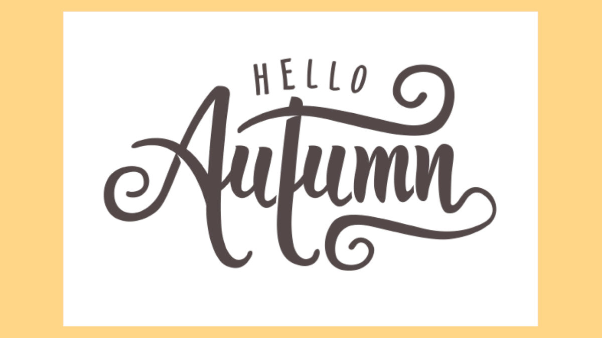 Hello Autumn! Here Are Our October Specials!