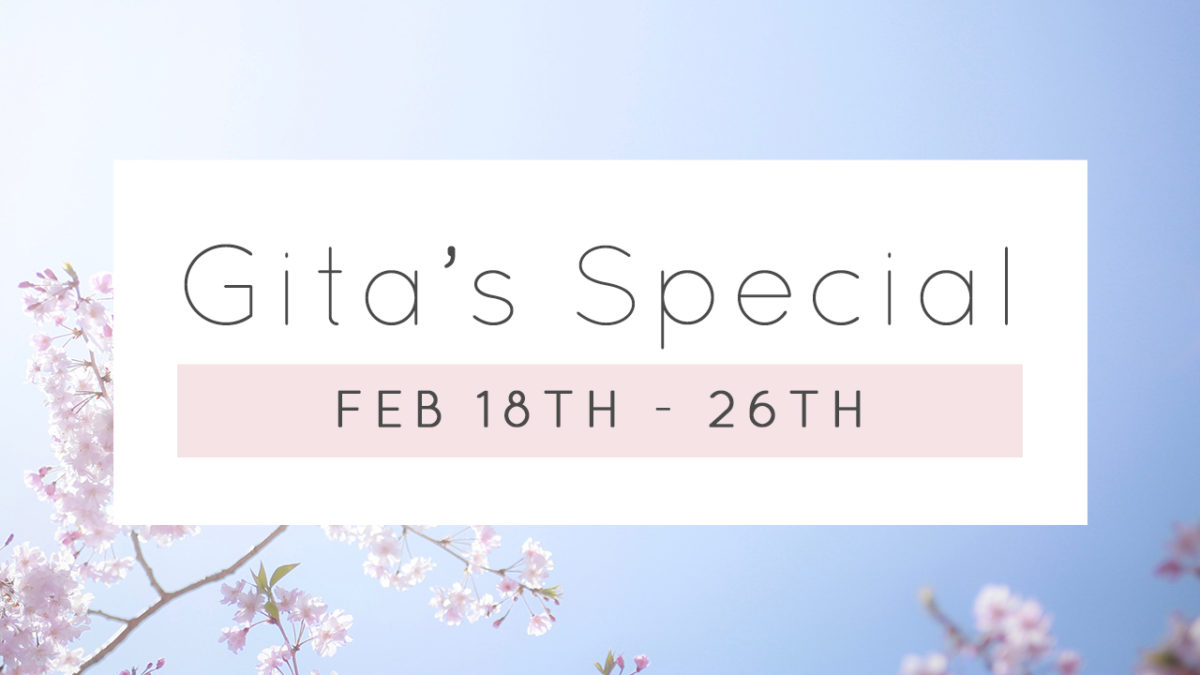 Gita's Special!